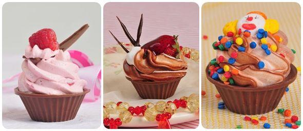 Receitas para o dia das crianças - Minicupcake trufado