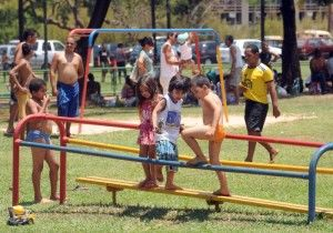 crianças-verão
