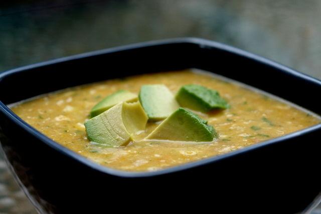 Receita Sopa de Quinoa