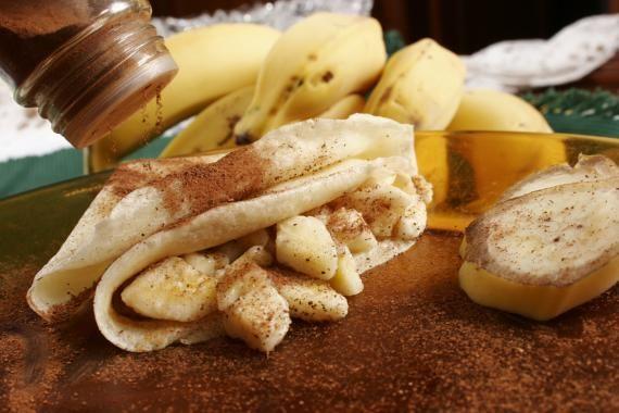 Confira a receita de um delicioso crepe de banana light