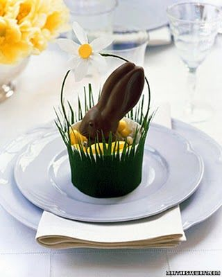 Coelho de Páscoa de chocolate