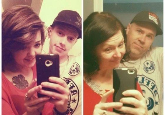 Nos EUA, pai 'clona' selfie do filho com amiga e viram hit na web