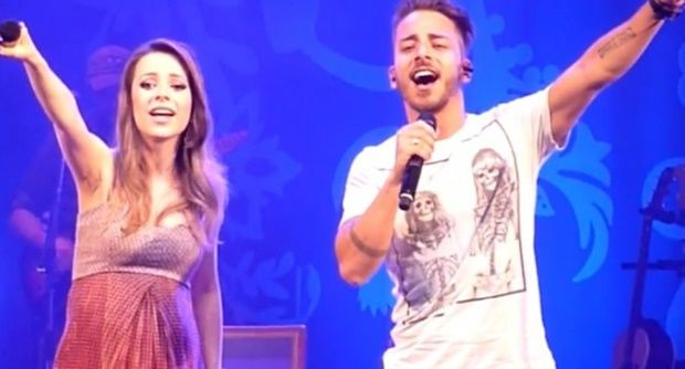 Sandy e Junior cantam juntos depois de 7 anos em Paulínia
