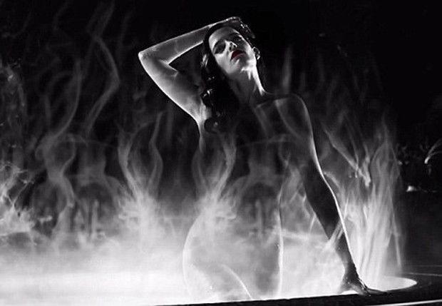 Cartaz do filme 'Sin City: A Dama Fatal' com Eva Green nua é censurado! Assista o trailer