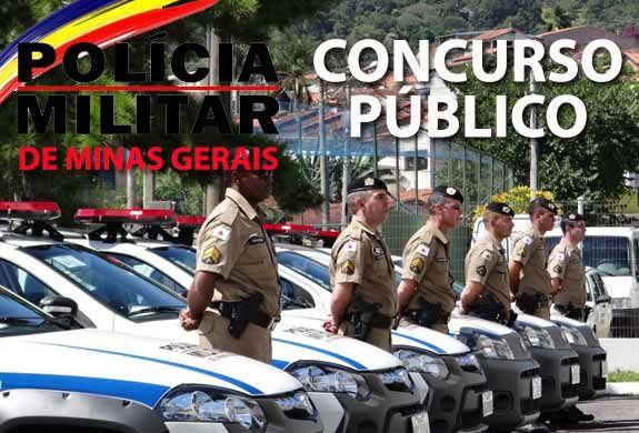 Concurso Polícia Militar 2014 de MG abre 120 vagas para Formação de Oficiais