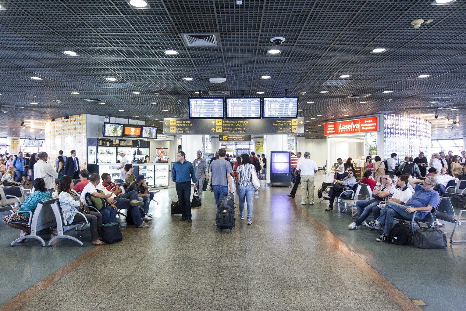 Aeroporto Juscelino Kubitschek : Rota brasília boa vista será novidade da tam a partir de