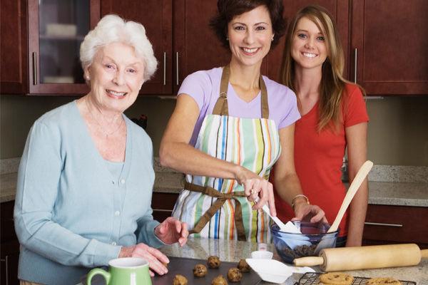 Resultado de imagem para avó na cozinha