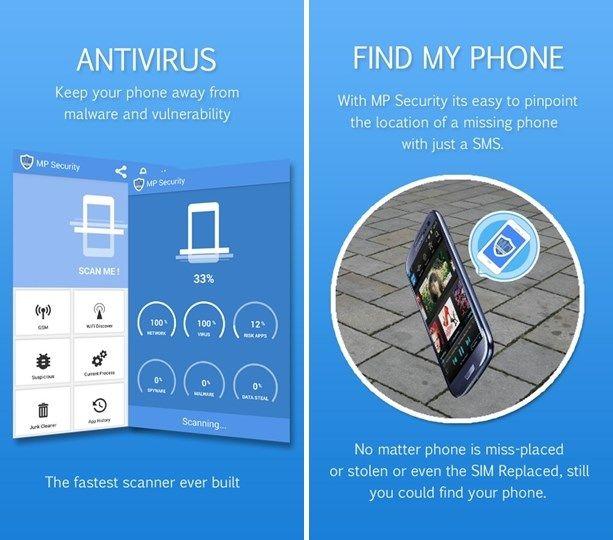 MP Security Antivirus App lock