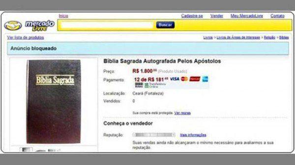 Bíblia autografada