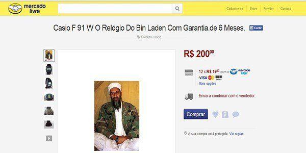 Relógio do Bin Laden