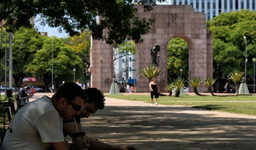 Parque Farroupilha em Porto Alegre