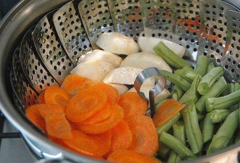 Dicas para o cozimento de legumes