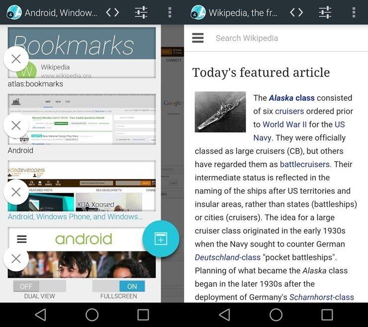 Atlas Web Browser