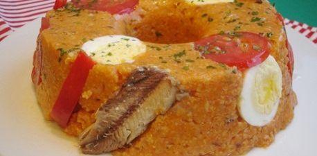 Cuscuz de sardinha