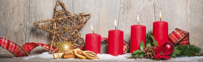 Ceia de Natal - Decoração