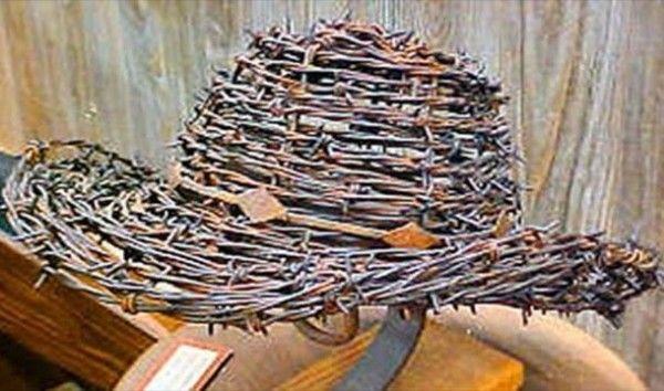 Chapéu de arame farpado