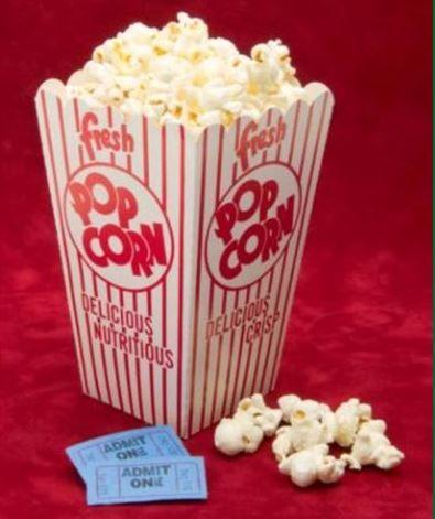 Dicas de dieta no cinema - Pipoca sem manteiga