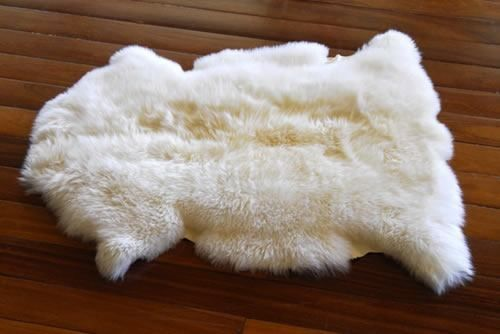 Lã de carneiro para se limpar
