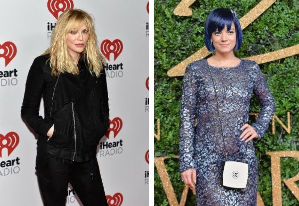 Courtney Love e Lilly Allen