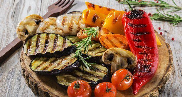 Dispensar as verduras e legumes