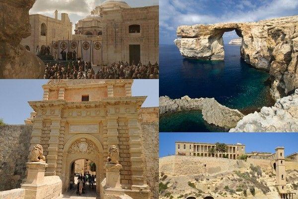 Malta Game of Thrones