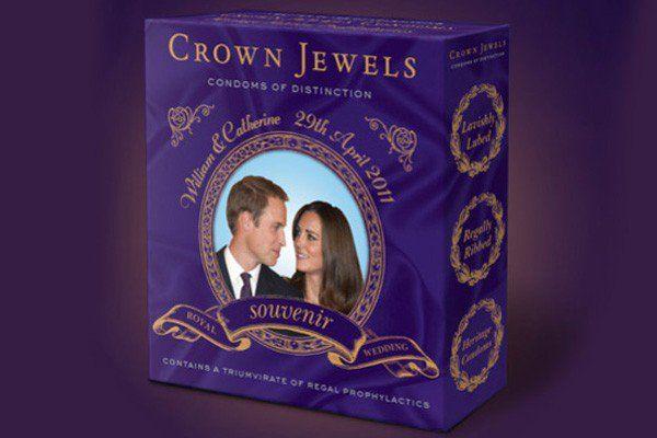 Camisinha do Príncipe William & Kate Middleton