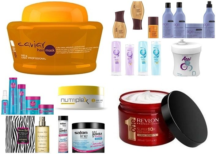 Dicas de produtos para cabelos 2016