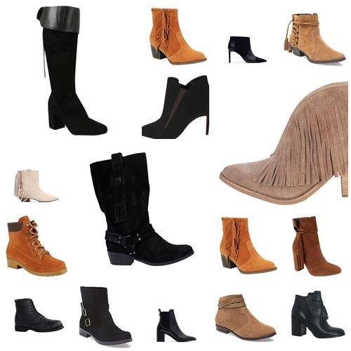 Botas estilosas para o inverno com preços a partir de R$ 99