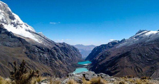 Cordilheira Branca no Peru