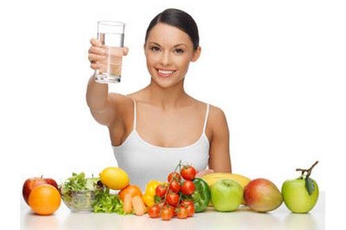 Água em alimentos