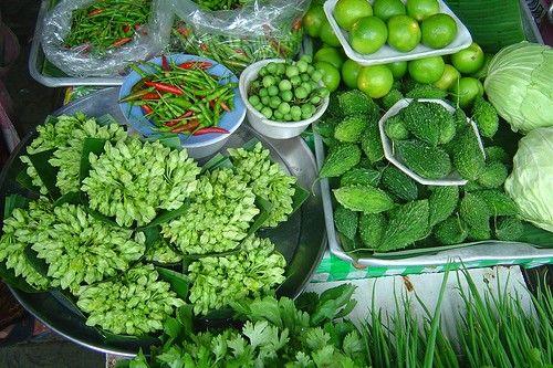 Vegetal verde escuro