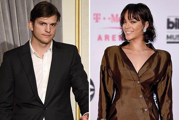 Ashton Kutcher e Rihanna