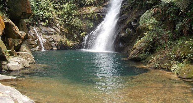 Cachoeira Lagoa Azul - Cubatão