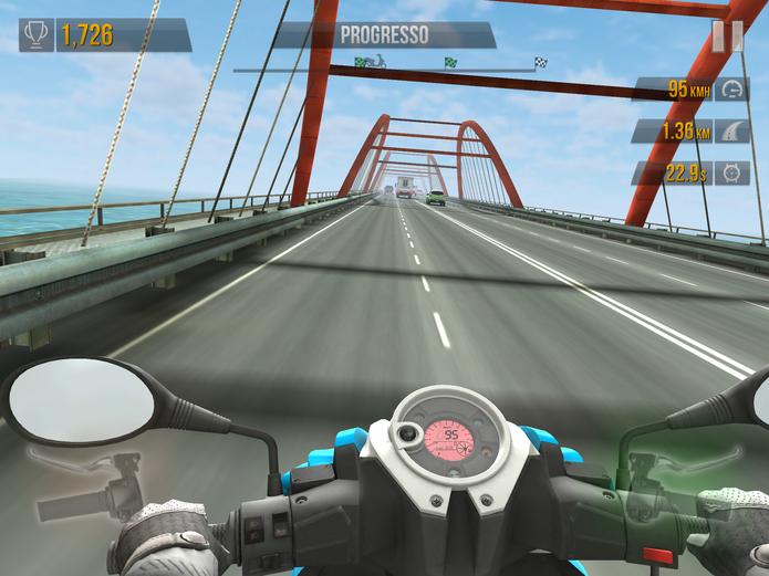 Traffic Rider (iOS – Grátis)