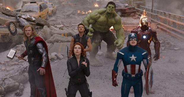 Homem de Ferro (2008) e Os Vingadores (2012)