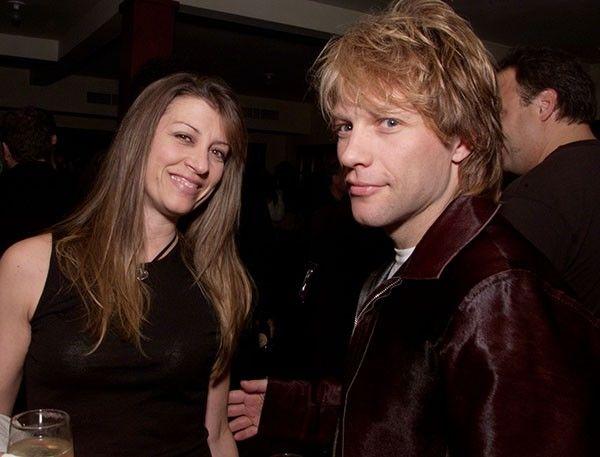 Jon Bon Jovi e Dorothea Hurley