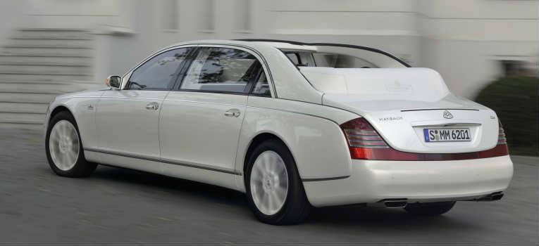 Maybach Landaulet (US$ 1,380 Milhão)