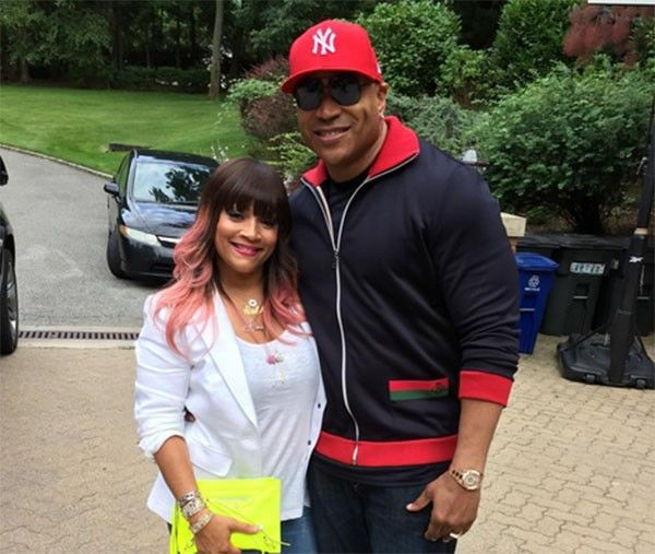 LL Cool J e Simone Johnson