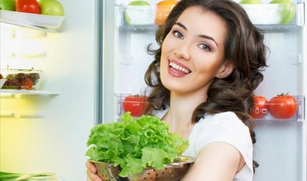 Não esqueça os alimentos na geladeira