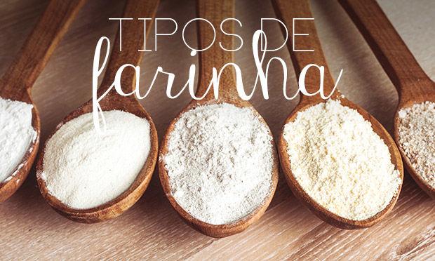 Tipos de farinha e particularidades de cada uma