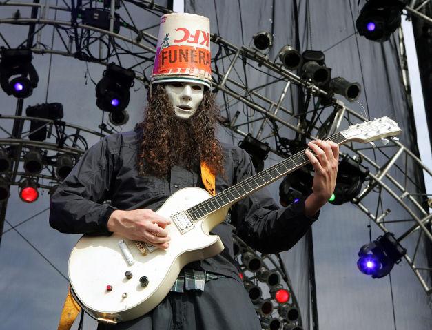 Buckethead em Guns N' Roses