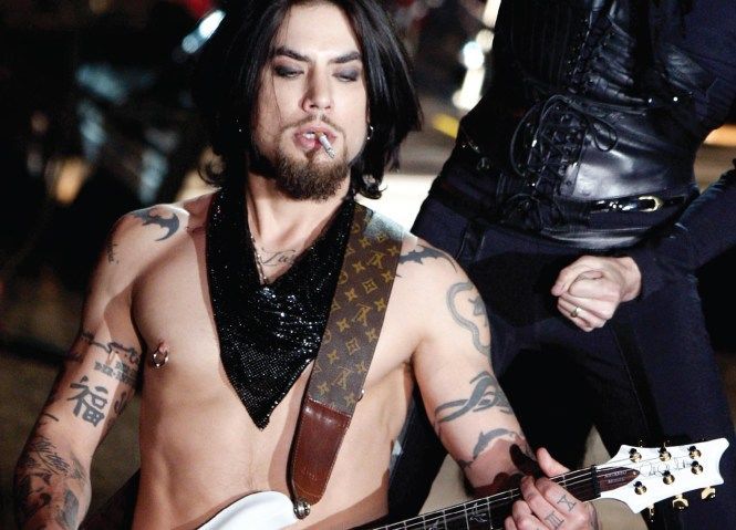Dave Navarro em Red Hot Chili Peppers