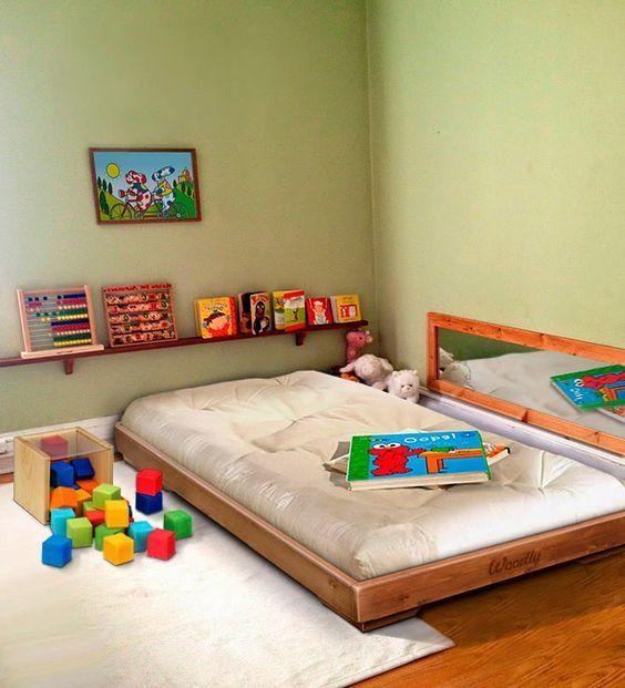 5 dicas para criar um quarto montessoriano